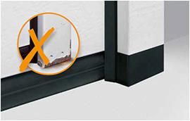 Protección de las puertas seccionales
