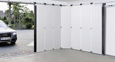 Puertas seccionales de apertura lateral
