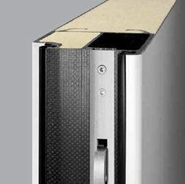Aislamiento térmico de las puertas de aluminio