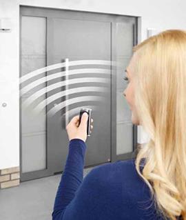 Automatismos de las puertas de aluminio