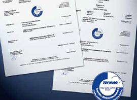 Certificados de automatismo