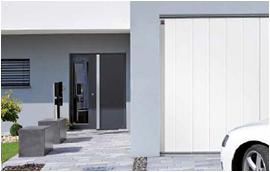 Diseños de puerta de apertura lateral