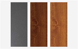 Materiales para puerta seccional de apertura lateral