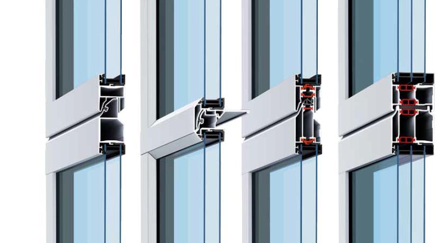 Perfil térmico de las puertas seccionales