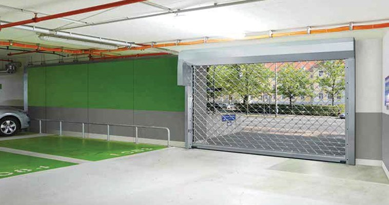 Puertas De Garaje Comunitario De Parkings Y Comercios