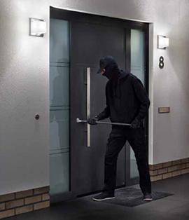 Seguridad de las puertas de aluminio