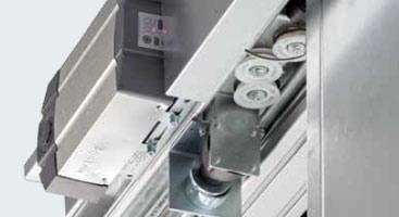 Automatismo de las puertas correderas cortafuego
