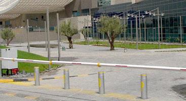 Barreras automáticas de parkings y comercios