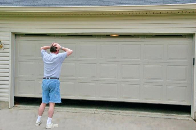 cómo hay que reparar las puertas de garaje automáticas - web aradock