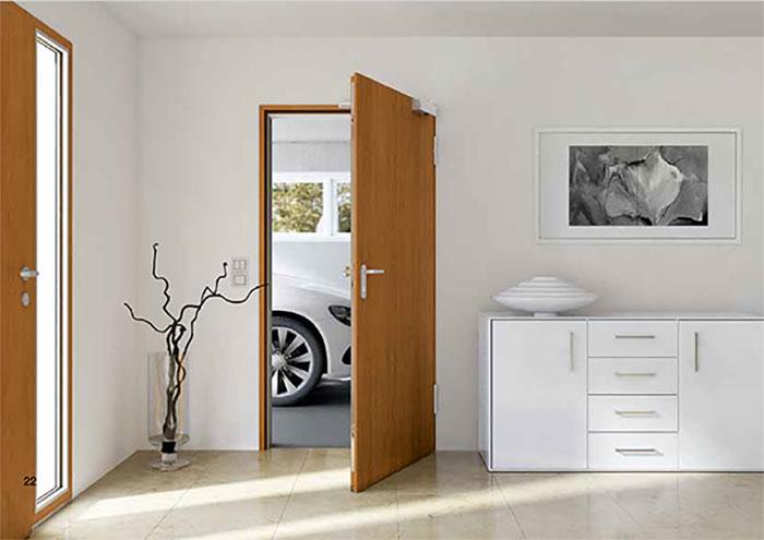 Puerta Interior Para Cada Habitación De Casa