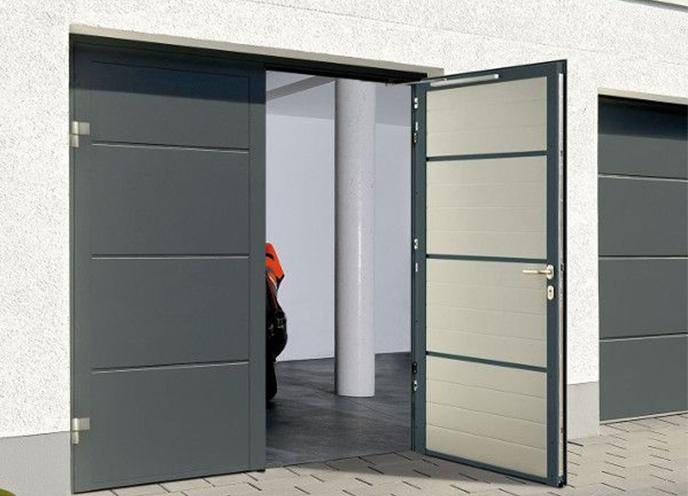 Consigue Un Aspecto Más Estético Con Las Puertas Peatonales Laterales De Garaje