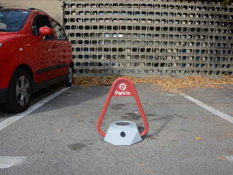 Parklio, barrera parking