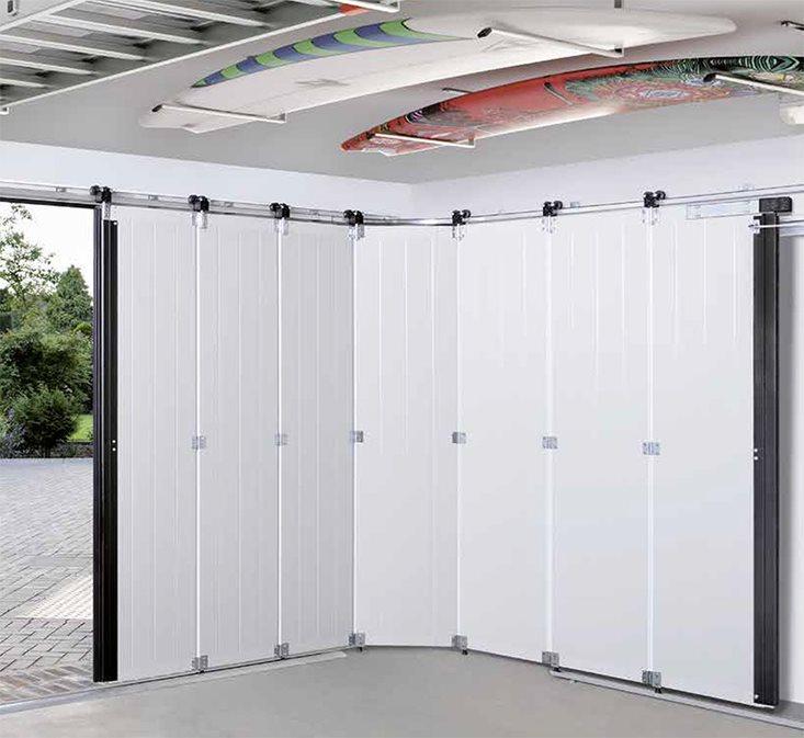 Renueva la entrada a tu garaje con nuestras puertas seccionales laterales