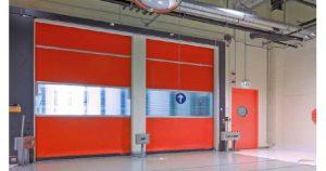Puertas para naves industriales